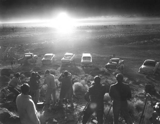 Atomic-Bomb-Blast-in-1952-Nevada